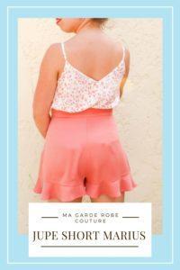 Dernière tenue estivale : top MS box et short Marius