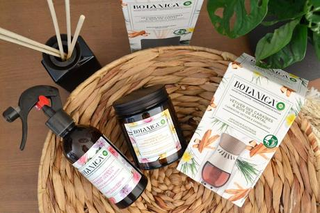 Un intérieur parfumé avec la nouvelle gamme Botanica d'Air Wick