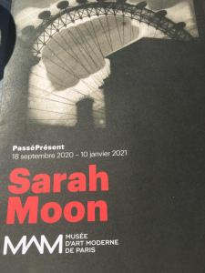 M A M de Paris  exposition Sarah Moon à partir du 18/09/2020