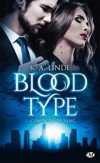 Blood type #1 Compagne de sang de KA Linde