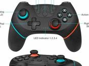 manette Bluetooth Rechargeable TYPE Compatible Nintendo Switch+ Lite