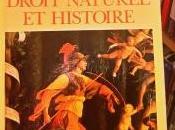 #2020RacontePasTaVie jour 252, livre mardi Droit Naturel Histoire Strauss