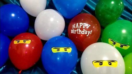Une déco d'anniversaire en compagnie de ses héros préférés !