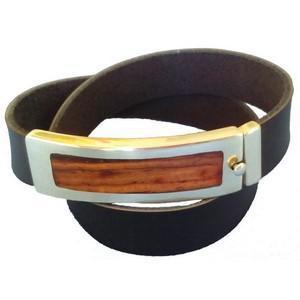 confection bracelet masculin en bois, personnalisé