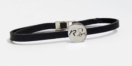 bracelet personnalisé pour homme avec initiales