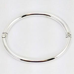 bracelet jonc à vis en argent