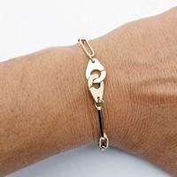 bracelet personnalisé en or