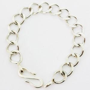 bracelet maille gourmette large pour homme