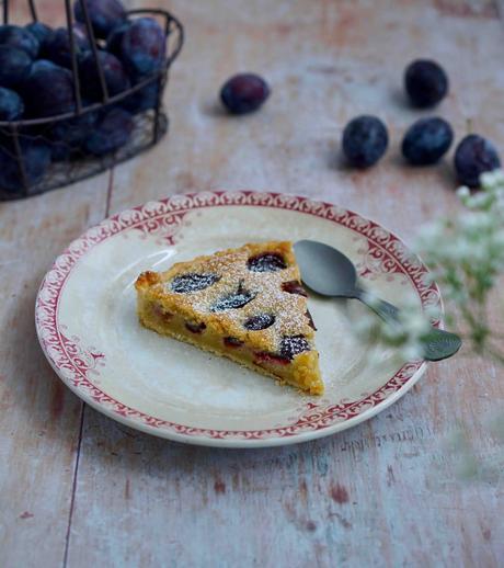 tarte aux prunes et frangipane