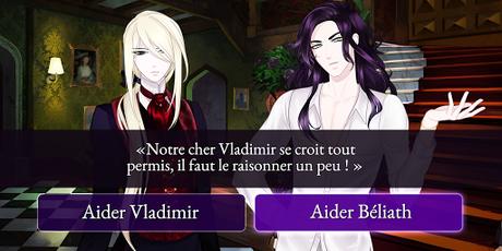 Télécharger Gratuit Moonlight Lovers : Béliath - dating sim / vampire APK MOD (Astuce) 3