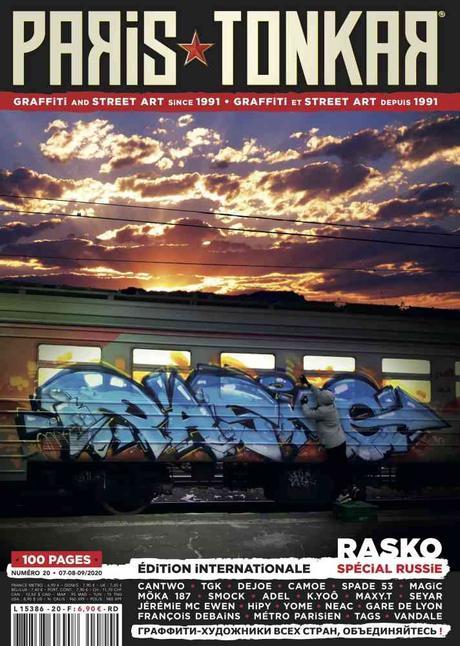 Où trouver Paris Tonkar magazine #20 ?