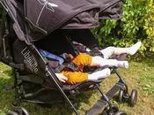 Kikoé Twin poussette pour jumeaux Libélulle