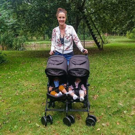 Kikoé Twin : la poussette pour jumeaux par Libélulle