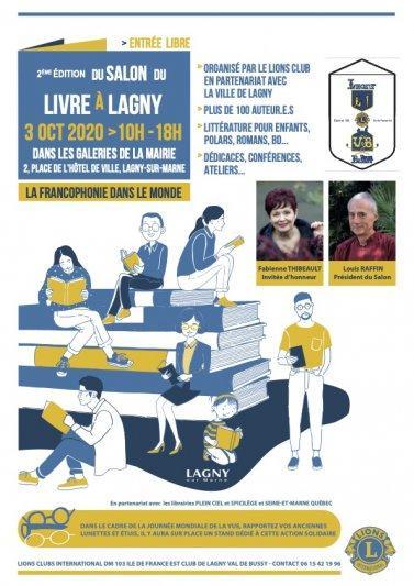 Dédicace au salon de Lagny-sur-Marne [ici]