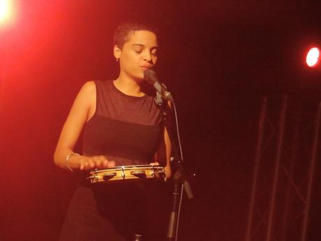 Agathe Iracema à La Grande Ourse, Saint-Agathon, le 20 septembre 2020