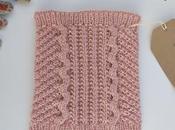 Tricoter snood pour enfant 12/36 mois