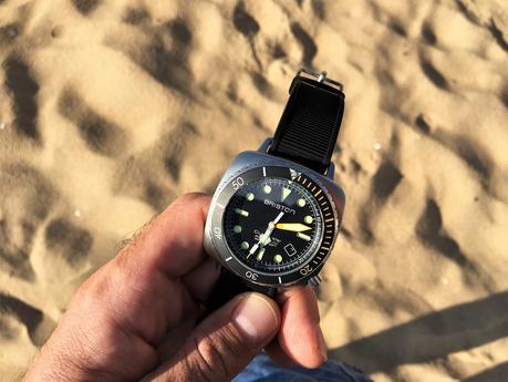 Test grandeur nature de la montre BRISTON CLUBMASTER DIVER PRO