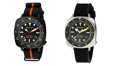 Briston propose une montre de plongée avec un mouvement automatique : la Clubmaster Diver