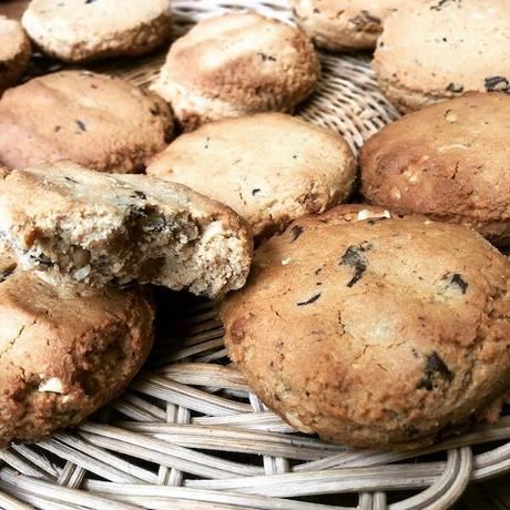 cookies au beurre de cacahuètes à la farine de coco