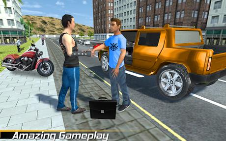 Code Triche Véritable Gangster Grande Ville - Crime Jeu De Sim  APK MOD (Astuce) 4