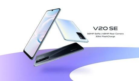 vivo V20 SE est maintenant officiel avec trois caméras
