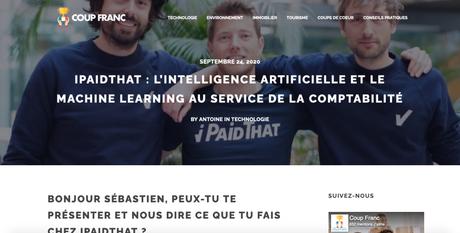 Coup Franc parle d'iPaidThat