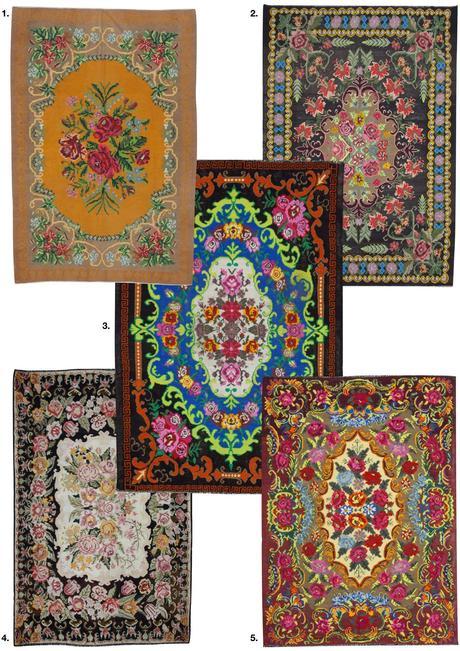 blog déco tapis intérieur style ethnique bohème vintage