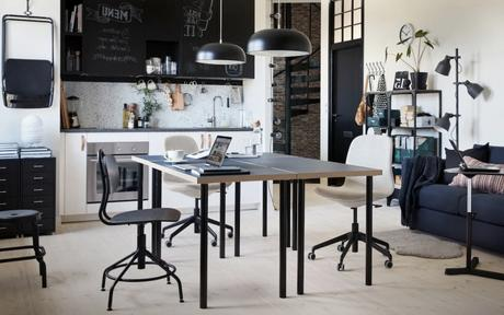 Aménager son bureau sur la table de cuisine