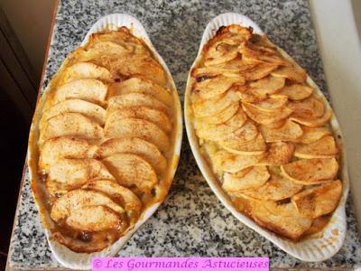 Gratin à la rhubarbe et aux pommes sans sucre (Vegan)
