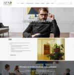 Création du site d'une société de formation de psychanalystes