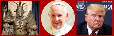 Trump, Satan et le pape