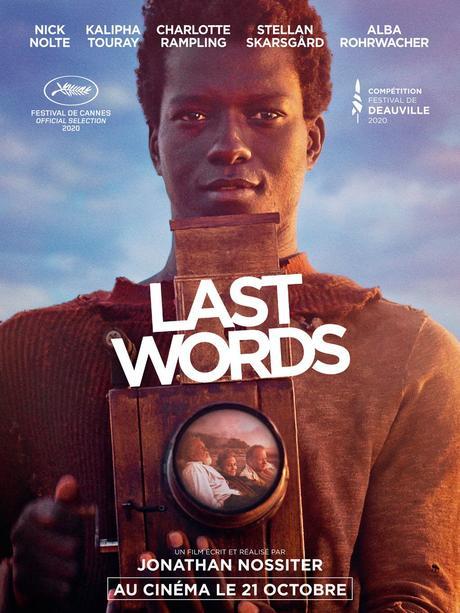 LAST WORDS avec Kalipha Touray, Nick Nolte, Charlotte Rampling...au Cinéma le 21 Octobre 2020