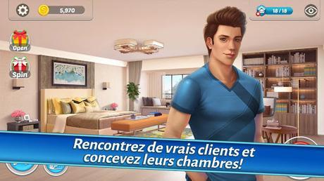 Télécharger Gratuit Home Designer – Match + Blast pour un relooking APK MOD (Astuce) 2