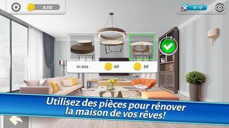Télécharger Gratuit Home Designer – Match + Blast pour un relooking APK MOD (Astuce) 6