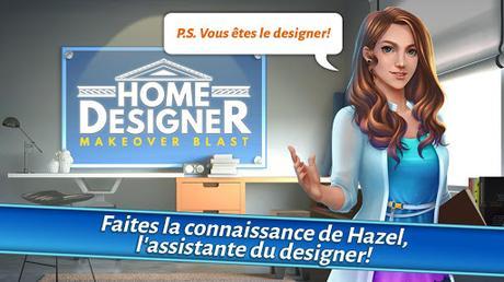 Télécharger Gratuit Home Designer – Match + Blast pour un relooking APK MOD (Astuce) 1