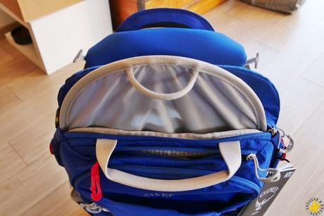 Porte bébé Osprey Poco Plus : mon avis