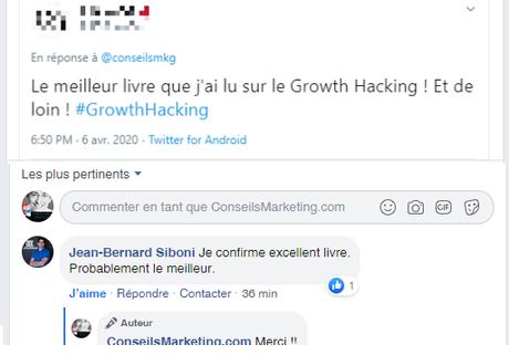 """La Seconde Edition de mon Livre """"Le Growth Hacking"""" vient de sortir… plus de 30% du livre a été totalement ré-écrit !"""