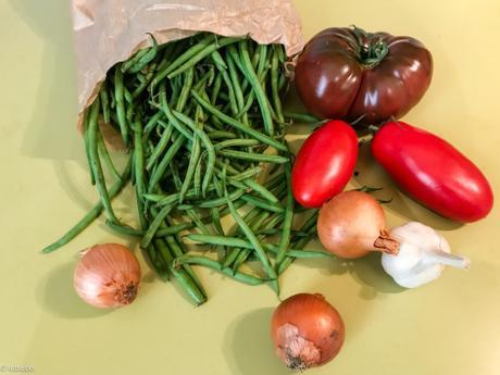 Grecs, portugais, espagnols ? – Haricots verts à la grecque