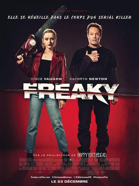 FREAKY - Préparez-vous à frissonner au Cinéma 23 Décembre 2020