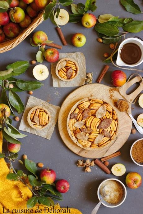 Tarte aux pommes vegan