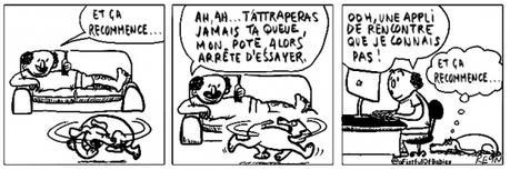 webzine,bd,zébra,fanzine,gratuit,bande-dessinée,comic-strip,reyn,afistfulofbabies.com,chien,site,amour,rencontre,humour,gag