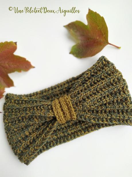Tricoter un headband pour adulte (ouvrage idéal pour débutant.e en tricot)