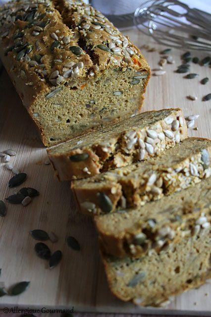 Cake carottes aux graines { sans gluten, sans lait, sans œufs }