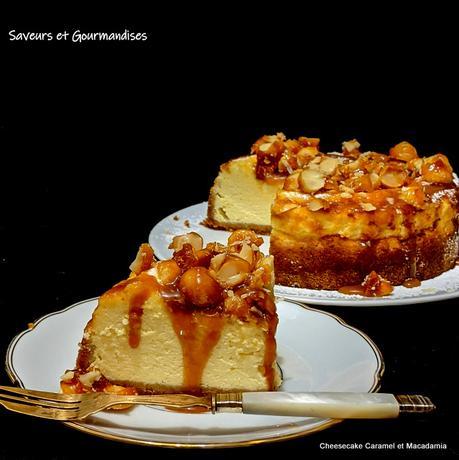 Cheesecake Caramel et Macadamia d'Ottolenghi.