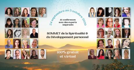 Sommet de la spiritualité et développement personnel : cadeau aujourd'hui !