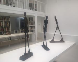 « L'Homme qui marche  » Fondation Giacometti Paris jusqu'au 29/11/2020
