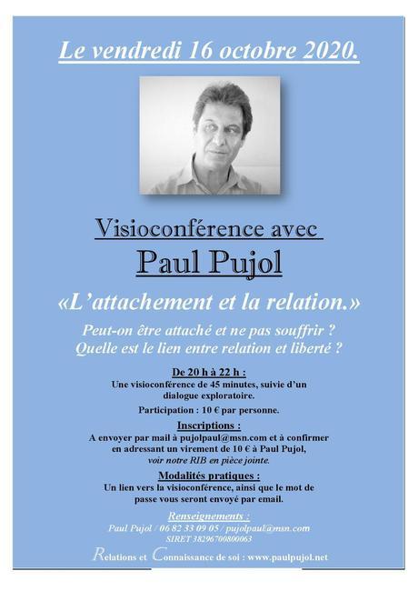 16 octobre 2020 Visioconférence de Paul Pujol