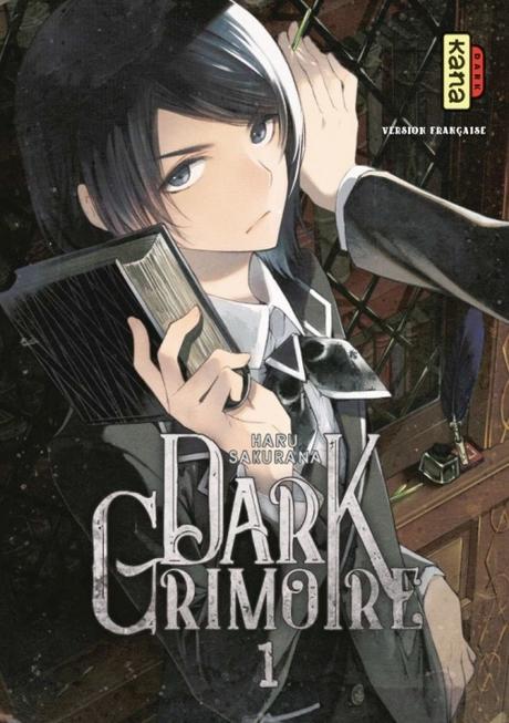 Couverture Dark grimoire, tome 1