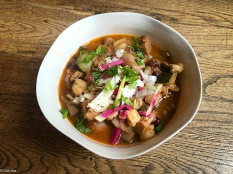 Voyage en terre inconnue – Pozole rouge (soupe mexicaine)