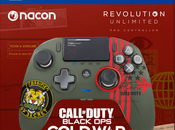 Nacon propose manette couleurs Call Duty: Black Cold